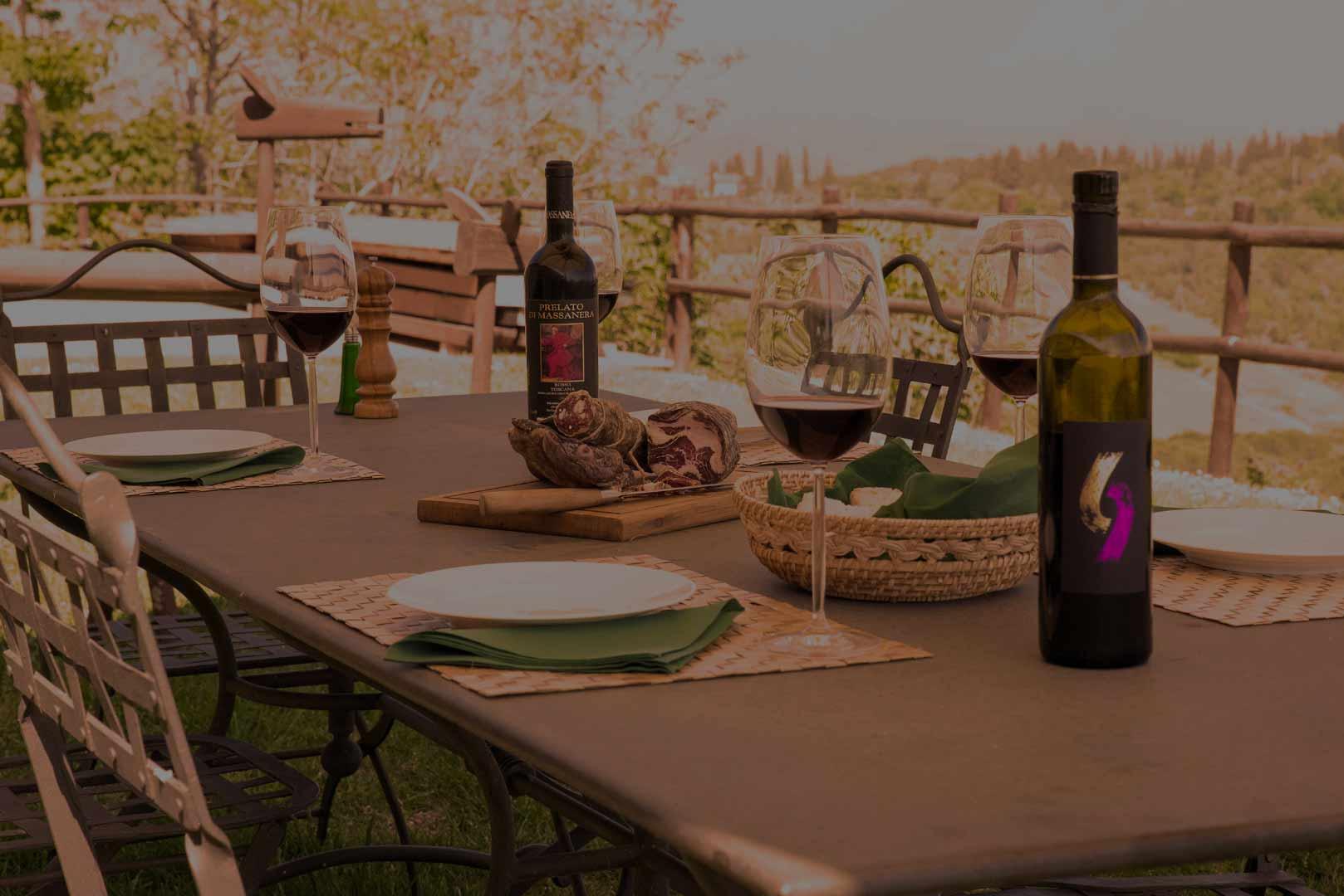 Enjoy an amazing Tuscan meal