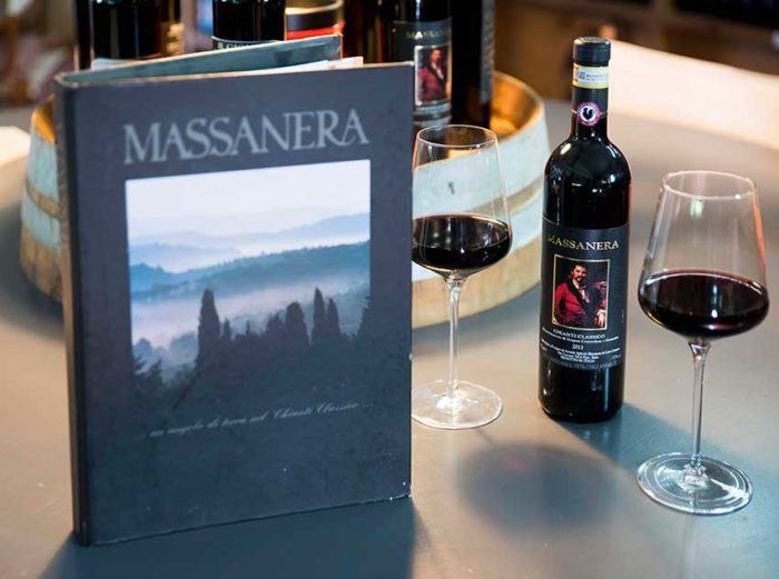 Massanera red wine