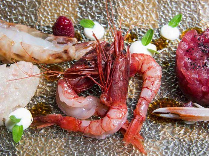 Red Shrimp Cruditè